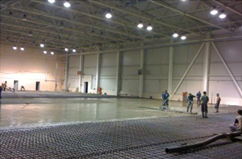 Упрочнение бетонного пола