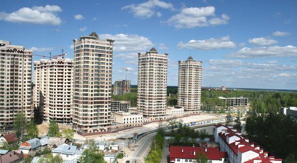 Жилые комплексы в Московской области