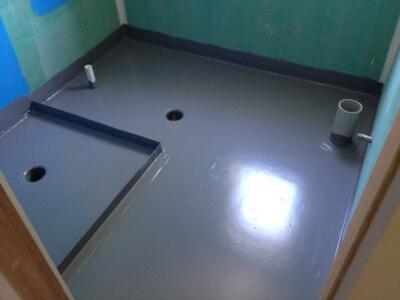 Гидроизоляция ванной комнаты жидкой резиной