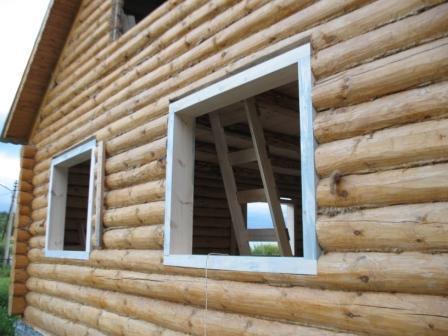 Окно для деревянного дома