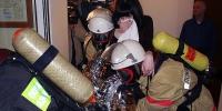 Эвакуация людей из мест возгорания
