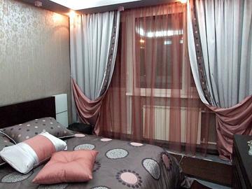 шторы в интерьере комнаты